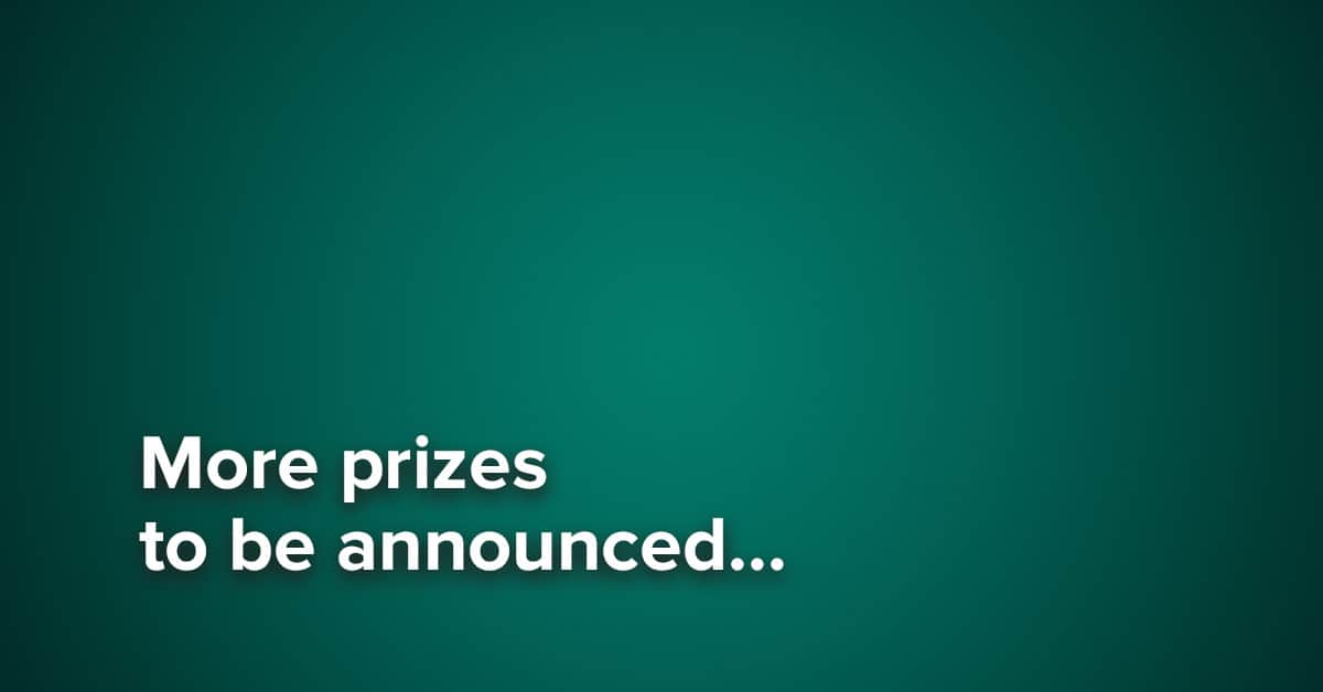more-prizes-to-be-announced